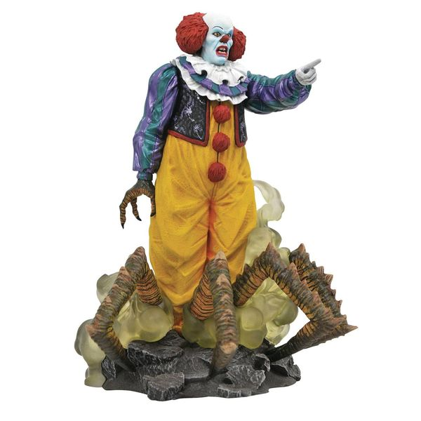 Figura Pennywise 1990 TV Mini Series Edition IT Gallery