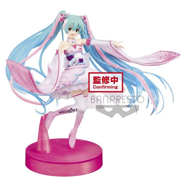 Figura Racing Miku 2019 Kimono Hatsune Miku Racing Vocaloid Espresto