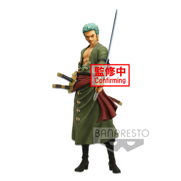 Figura Roronoa Zoro One Piece Grandista Nero