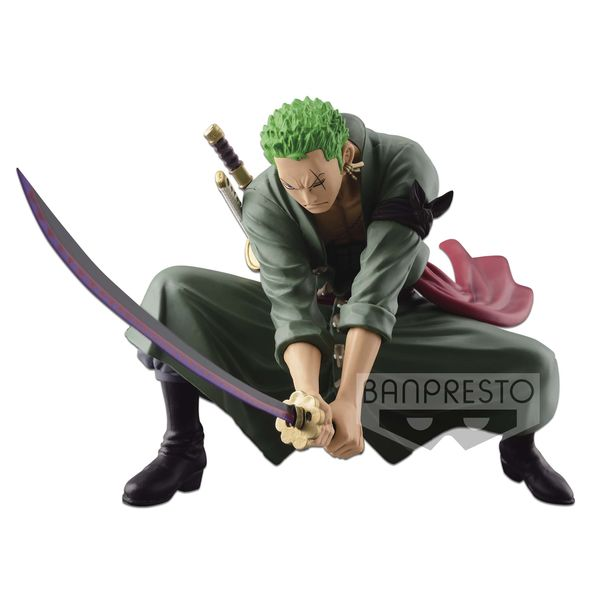 Roronoa Zoro Figure One Piece SCulture BIG BWFC IV Vol 3