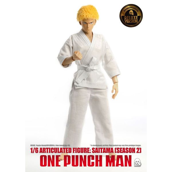 Figura Saitama Season 2 Deluxe Version One Punch Man