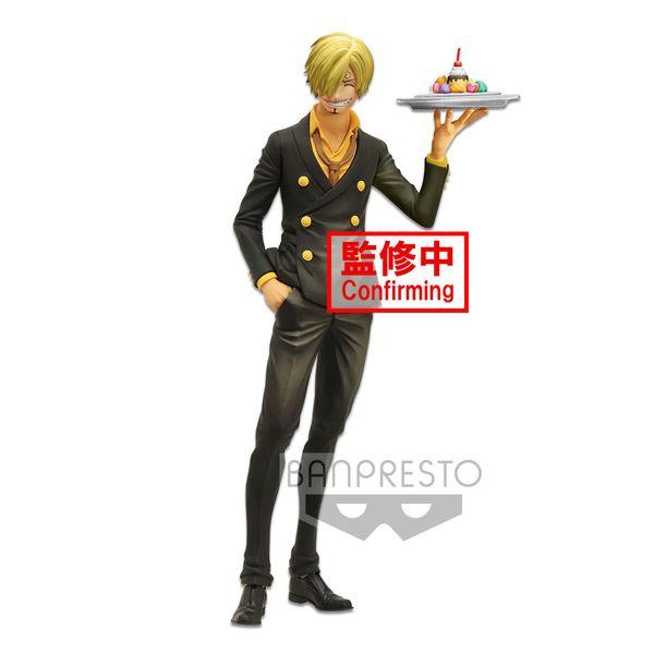 Figura Sanji One Piece Grandista Nero