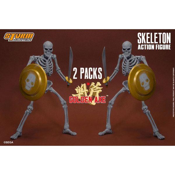 Figura Skeleton Golden Axe Set