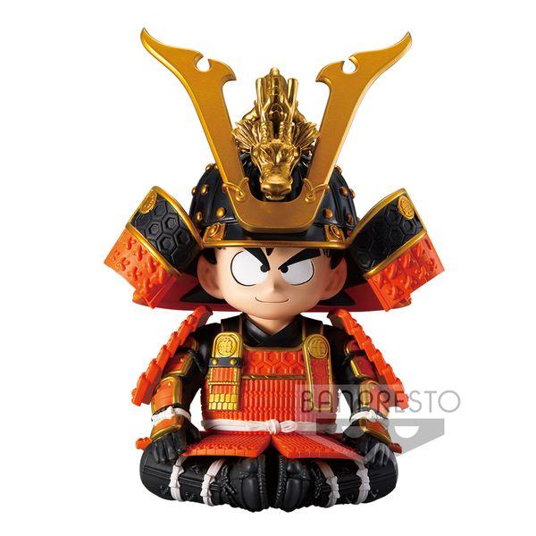 Figura Son Goku Kid Japanese Armor & Helmet Dragon Ball