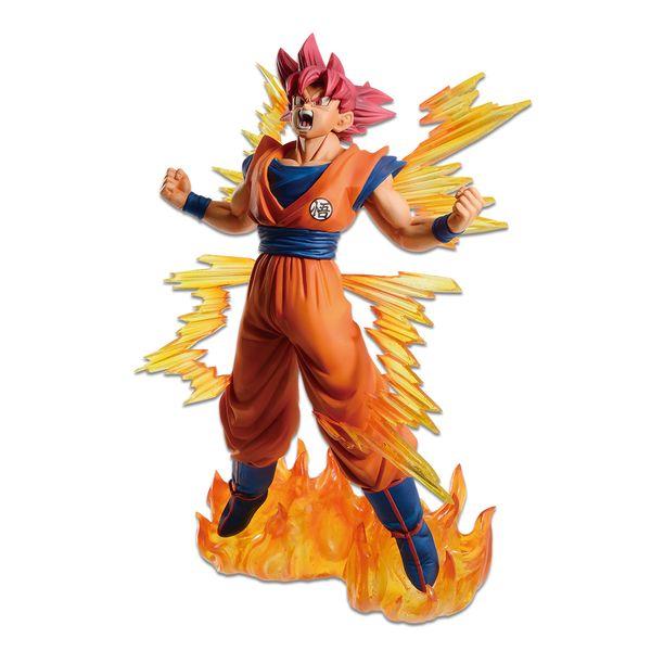 Figura Son Goku SSG Dragon Ball Super Dokkan Battle 6th Anniversary Ichibansho