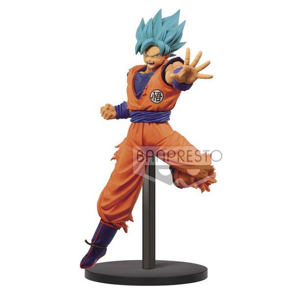 Figura Son Goku SSGSS Dragon Ball Super Chosenshiretsuden II Vol 4