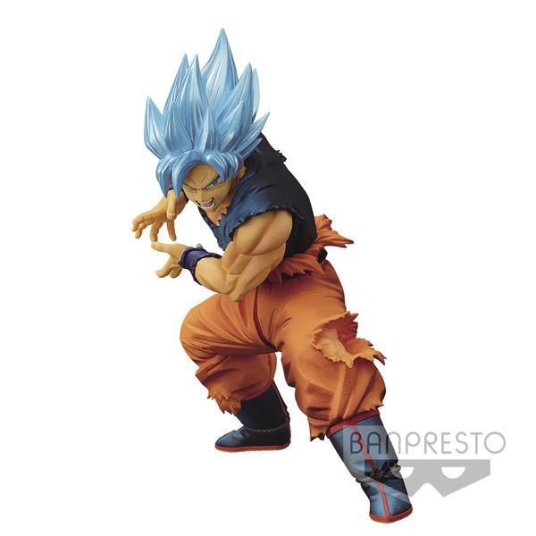 Figura Son Goku SSGSS Dragon Ball Super Maximatic