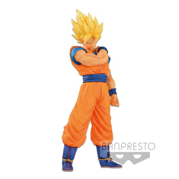 Son Goku SSJ Figure Dragon Ball Z Resolution of Soldiers Vol 1