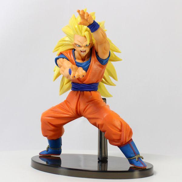 Figura Son Goku SSJ3 Dragon Ball Super Chosenshiretsuden