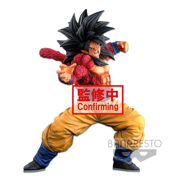 Figura Son Goku SSJ4 Dragon Ball GT Super Master Stars Piece BWFC