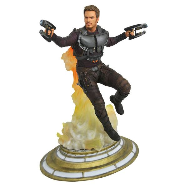 Figura Star Lord Maskless Guardianes de la Galaxia 2 Marvel Gallery