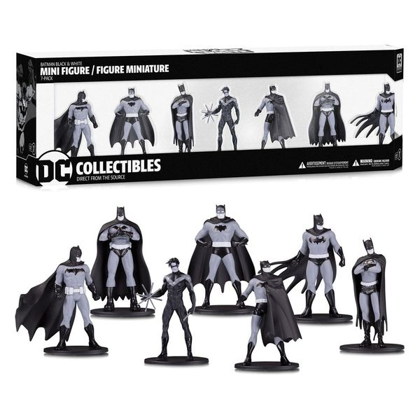 Figura Batman Black & White DC Comics Box Set #1
