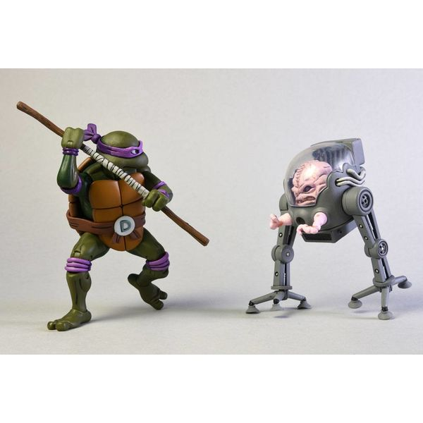 Donatello vs Krang in Bubble Walker Figure Teenage Mutant Ninja Turtles