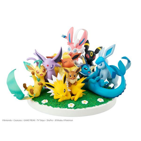 Figura Eevee Friends Pokemon G.E.M. Ex