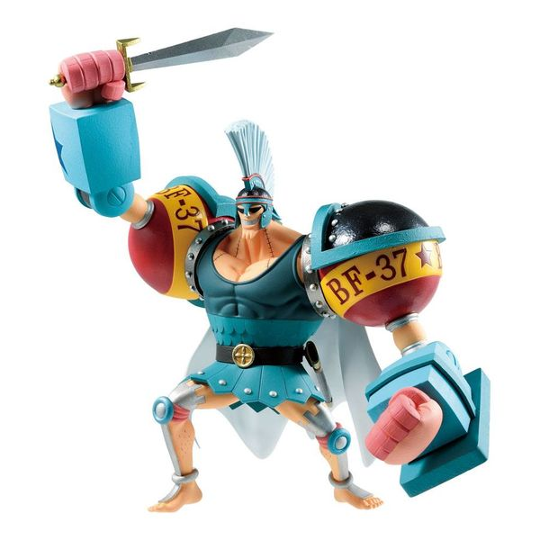 Figura Franky One Piece Stampede Ichibansho