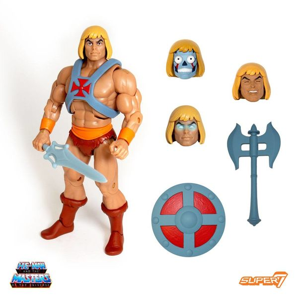 Figura He-Man Club Grayskull Ultimates Masters Of the Universe Classics