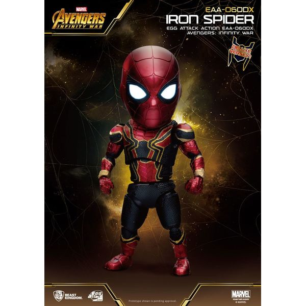 Iron Spider Deluxe Version Figure Avengers Infinity War Egg Attack