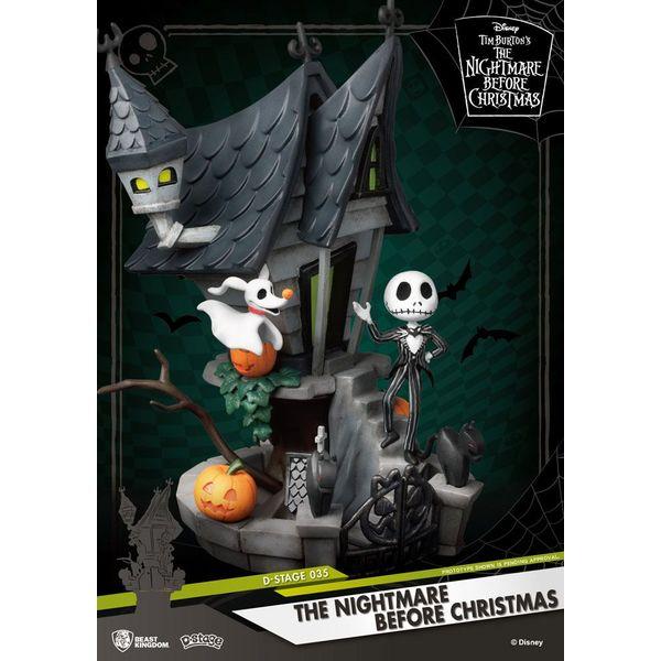 Figura Jack Haunted House Pesadilla antes de Navidad D Stage
