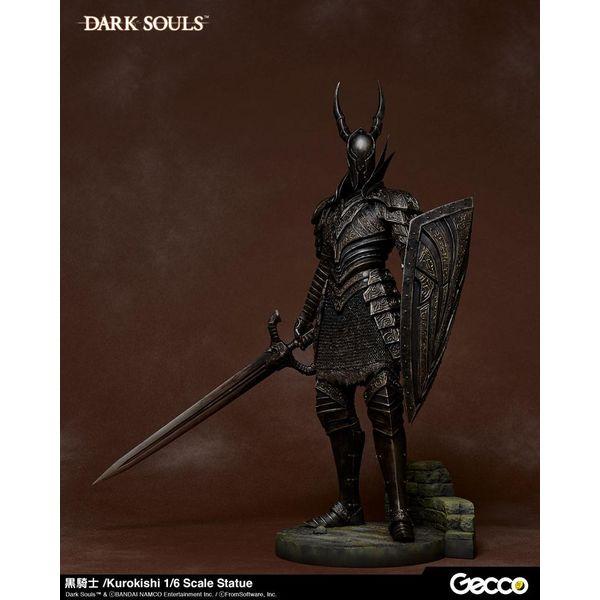 Figura Kurokishi The Black Knight Dark Souls