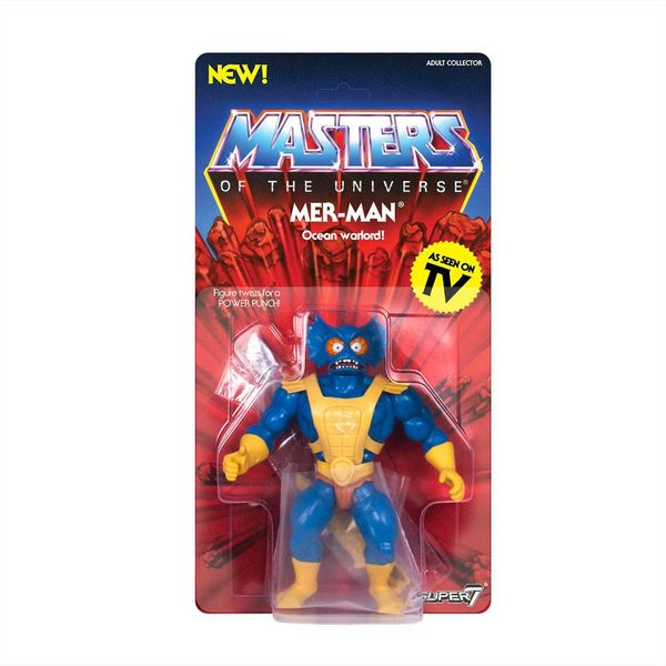 Figura Mer-Man Masters of the Universe Vintage Collection