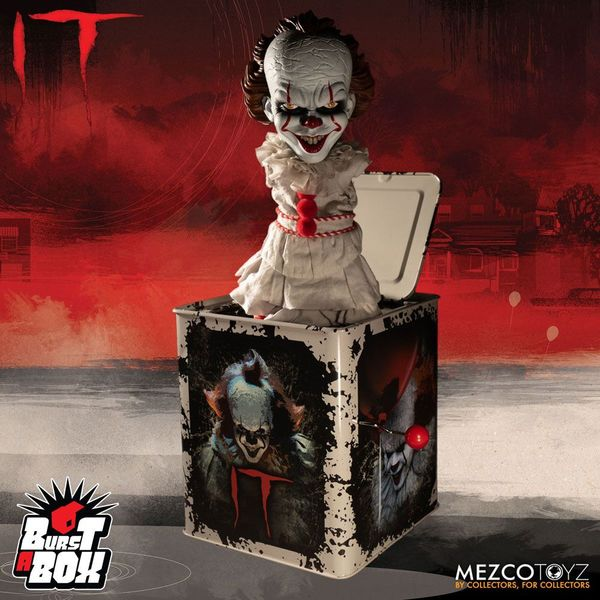 Pennywise Burst-A-Box Figure Stephen King's It 2017