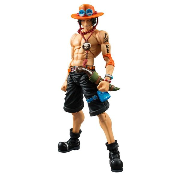 Portgas D Ace Figure One Piece Variable Action Heroes