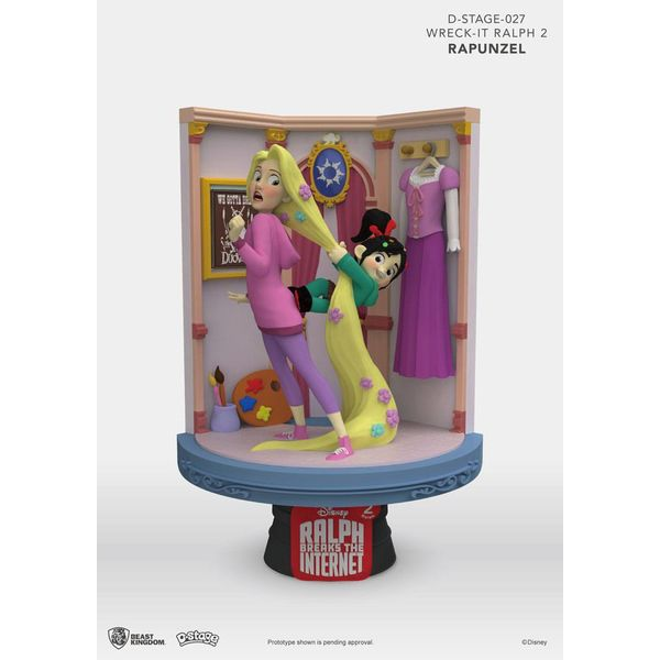 Figura Rapunzel & Vanellope Ralph Breaks the Internet D-Stage