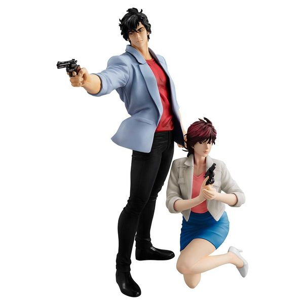 Figura Saeba Ryo & Makimura Kaori City Hunter Private Eyes G.E.M.