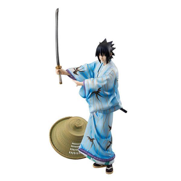 Sasuke Uchiha Kabuki Figure Naruto G.E.M.