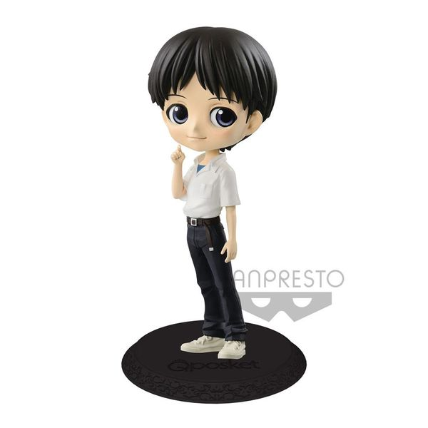 Figura Shinji Ikari version A Evangelion Movie Q Posket