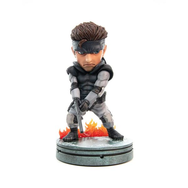 Figura Solid Snake SD Metal Gear Solid
