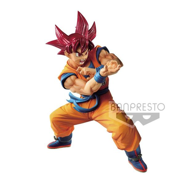 Son Goku SSG Figure Dragon Ball Super Blood of Saiyans