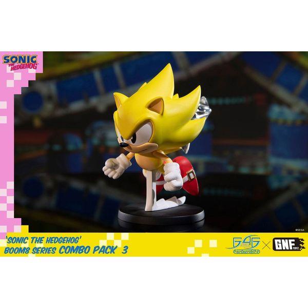 Figura Super Sonic Sonic The Hedgehog BOOM8 Series Vol 06