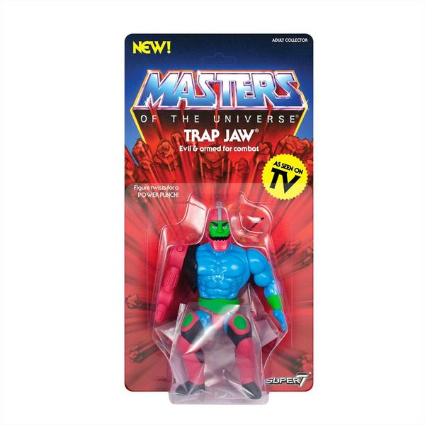 Figura Trap Jaw Masters of the Universe Vintage Collection