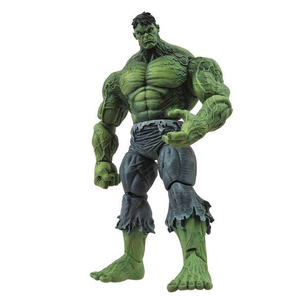Figura Unleashed Hulk Marvel Comics Marvel Select