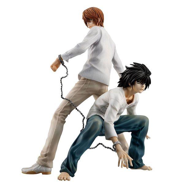 Yagami Light & L Figure Death Note G.E.M.