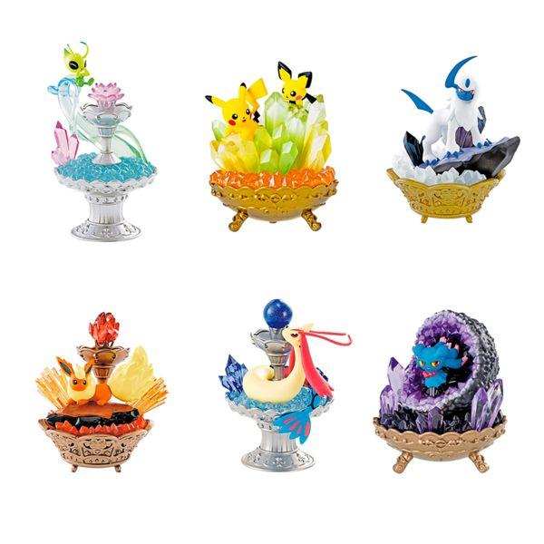 Gashapon Pokemon Gemstone Collection (Caja Completa)