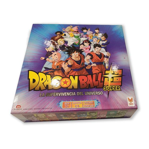 Dragon Ball Super La Supervivencia del Universo Board Game Spanish Edition