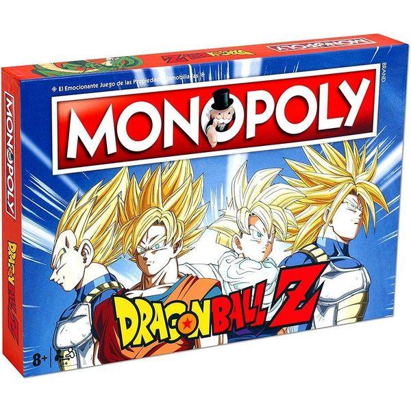 Juego de Mesa Monopoly Dragon Ball Z *Edición Español*