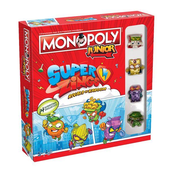 Juego de Mesa Monopoly Junior SuperZings *Edición Español*