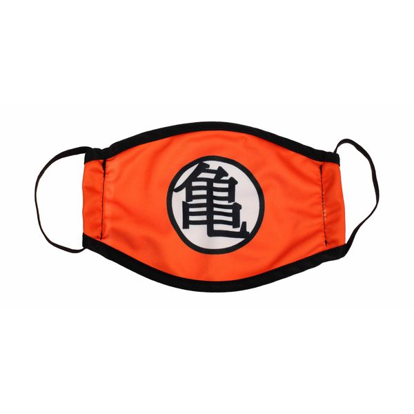 Kanji Kame Dragon Ball Z fabric mask