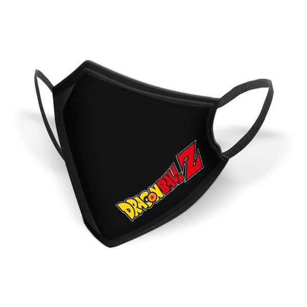 Logo Dragon Ball Z fabric mask