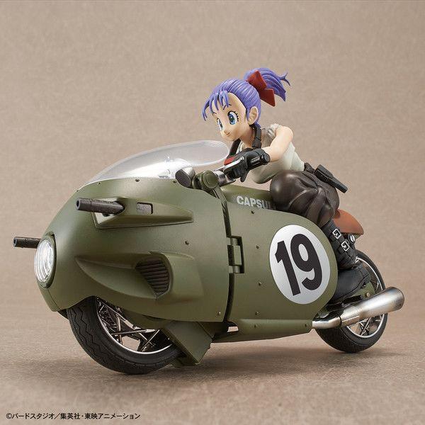 Bulma Variable No.19 Bike Model Kit Dragon Ball Figure Rise Mechanics