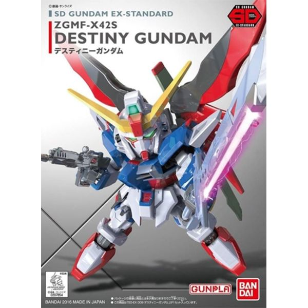 Model Kit Destiny Gundam SD EX-Standard 009 Gundam