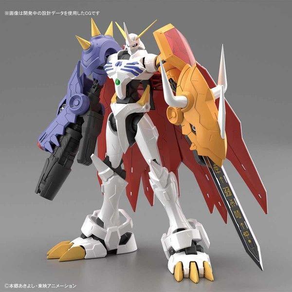 Model Kit Omegamon Amplified Figure Rise Digimon Adventure