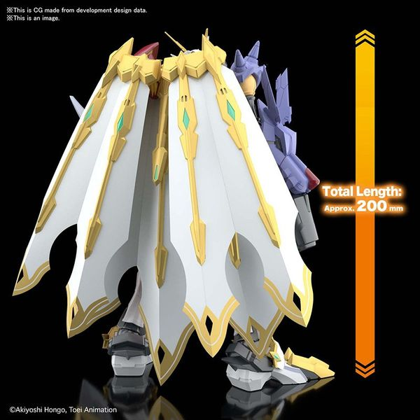 Model Kit Omegamon X Antibody Digimon Adventure Figure Rise Amplified