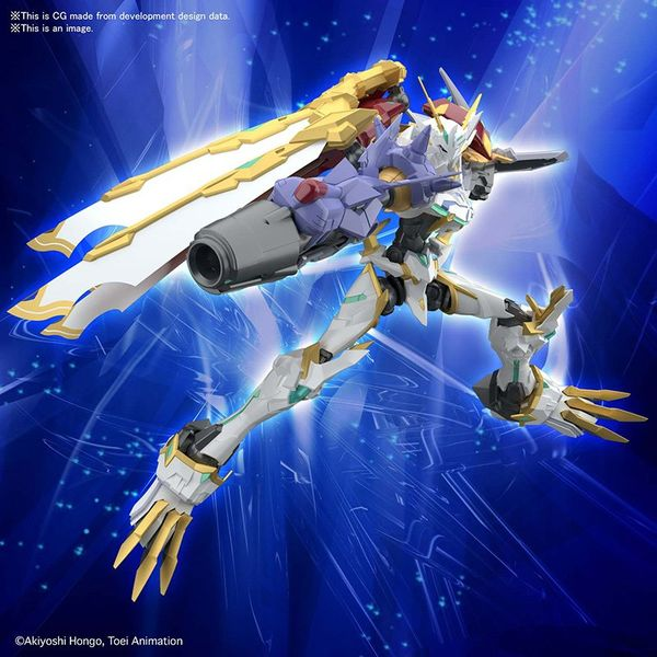 Omegamon X Antibody Model Kit Digimon Adventure Figure Rise Amplified
