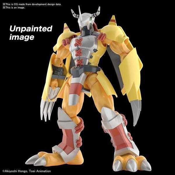Model Kit Wargreymon Anime Version Digimon Adventure Figure Rise Standard
