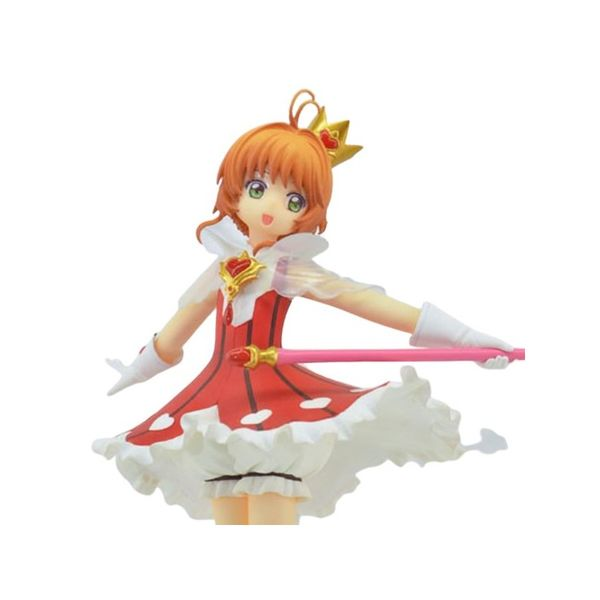 Figura Sakura Kinomoto Corazón Rojo Card Captor Sakura Clear Card