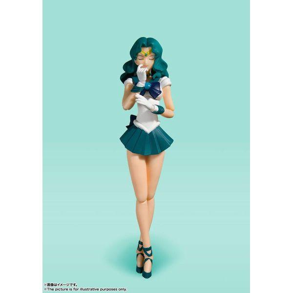 SH Figuarts Sailor Neptuno Animation Color Edition Sailor Moon